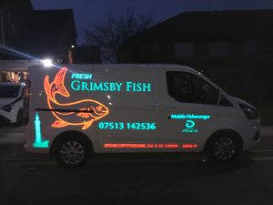 VAN SIGNAGE GRIMSBY LONDON